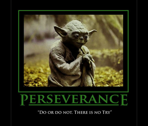 yoda is a master at practice to become a master of self mindtamer