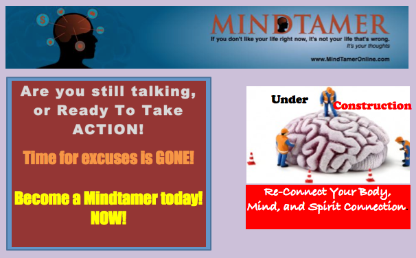 excuses and action don't mix. become a mindtamer